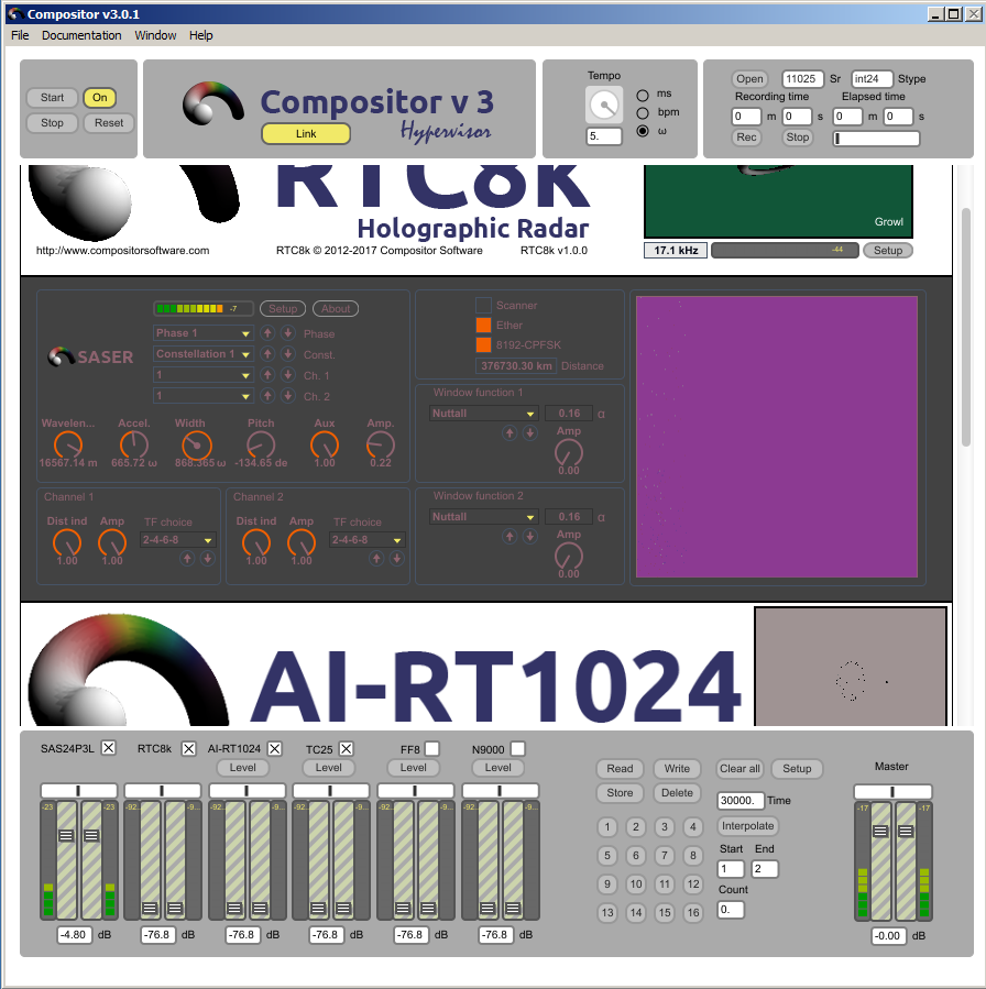 Compositor v3.0.1 Hypervisor Radio Shack