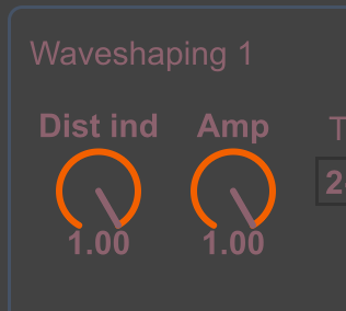 Compositor 4 waveshaping