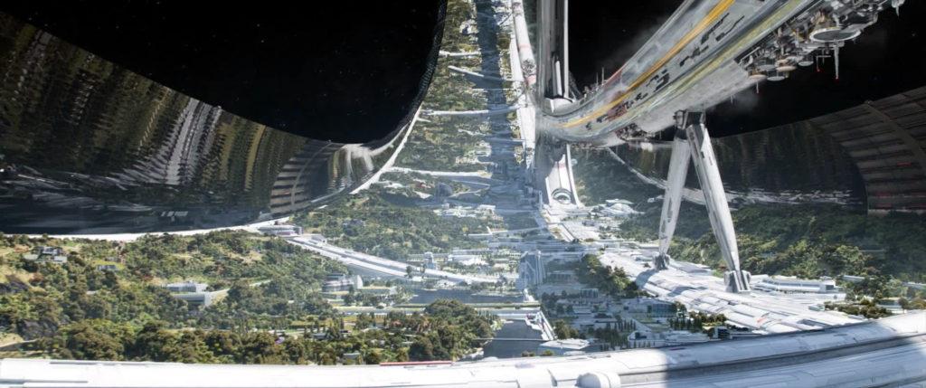 Elysium spaceship