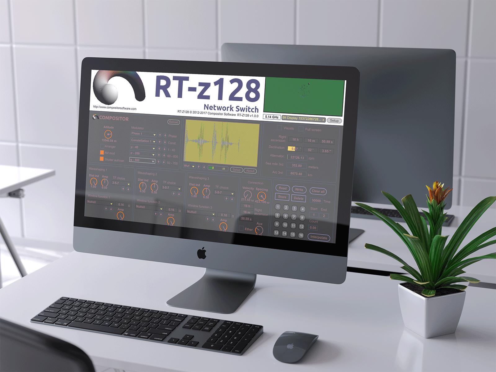 Compositor v5.0 on iMac Pro