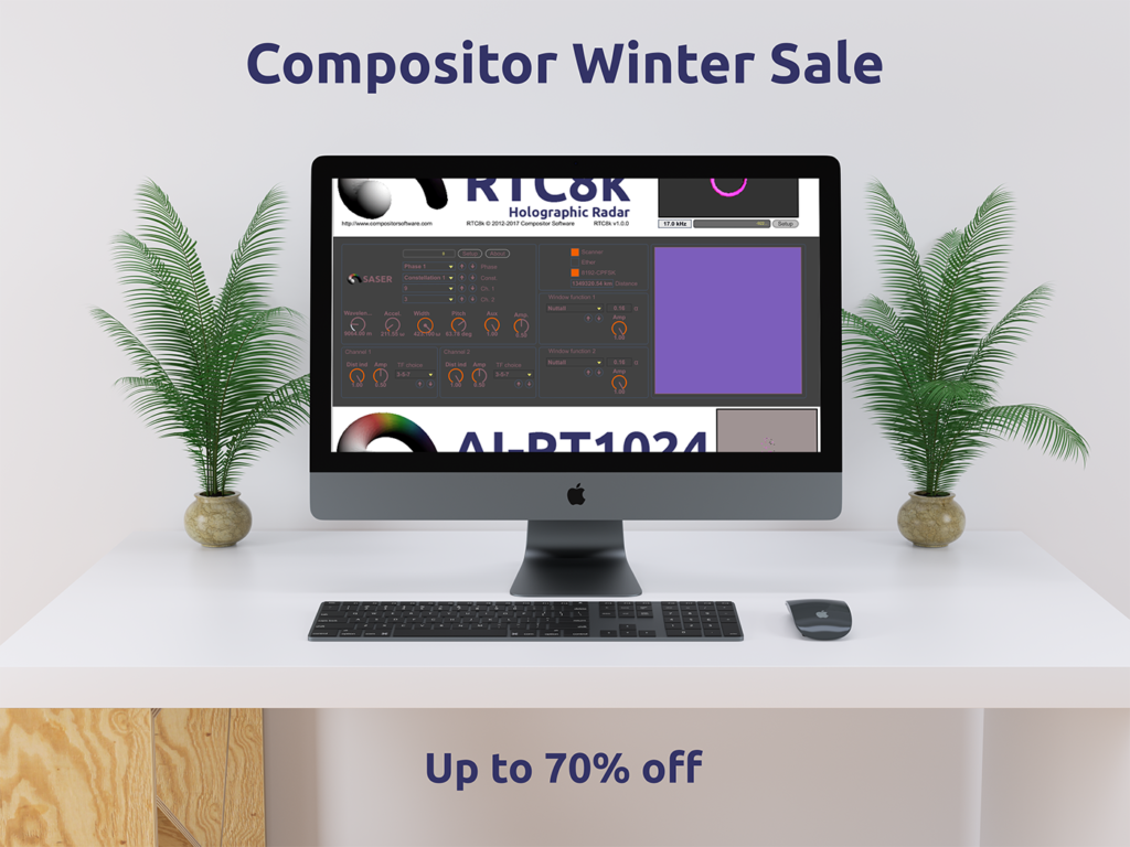 Compositor Software Winter Sale