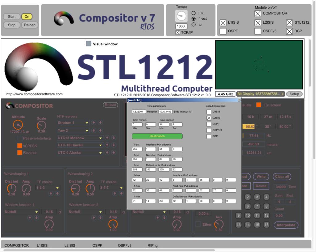 Compositor v7.0.2 RTOS