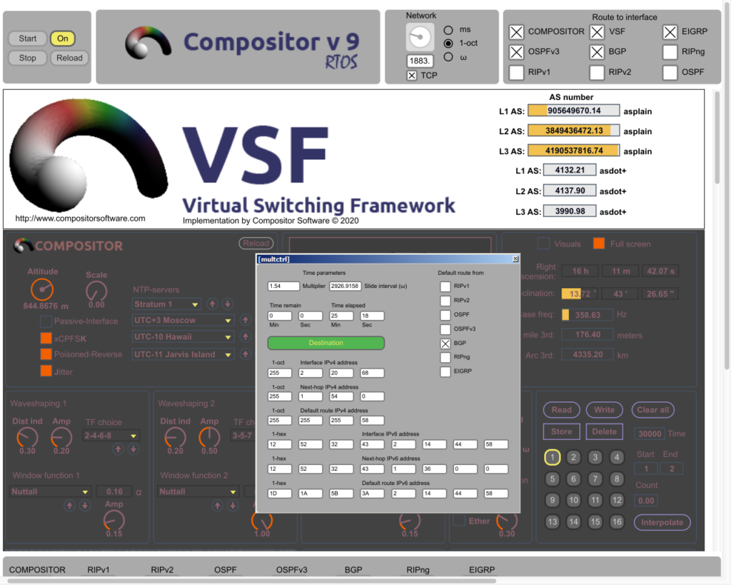 Compositor v9.0.2 RTOS AS counter