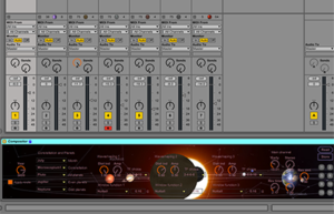 Compositor M4L screenshot