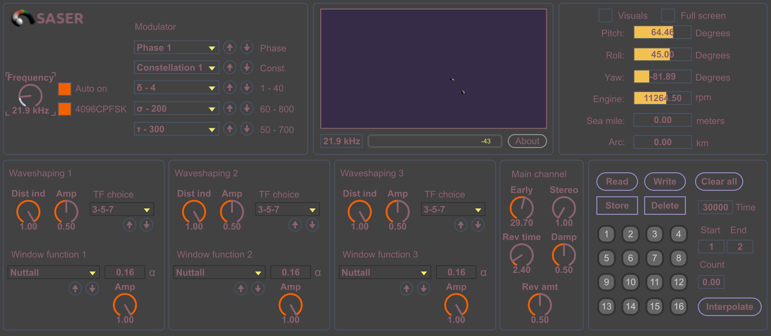SASER SAS24P3L v1.1 Max for Live