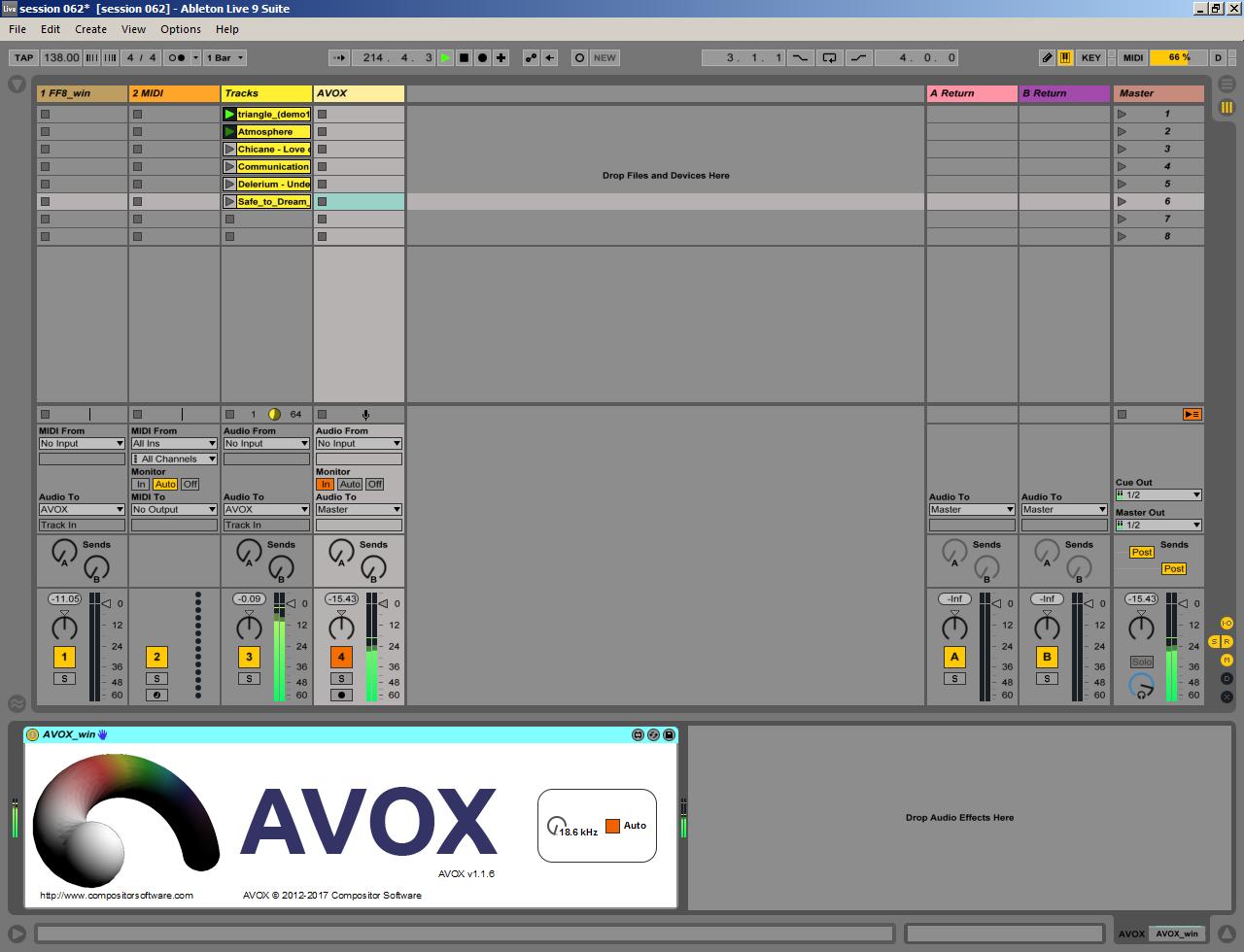 AVOX Max for Live