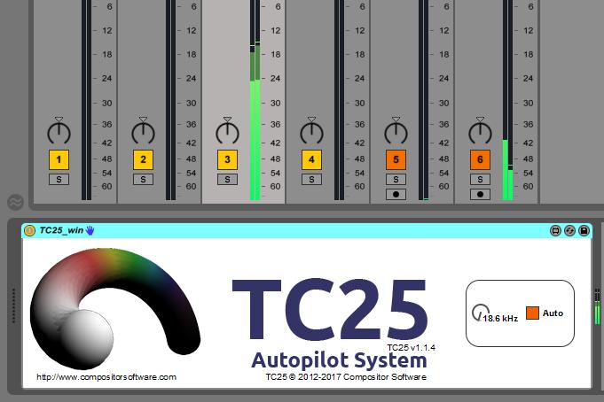 TC25 Max for Live