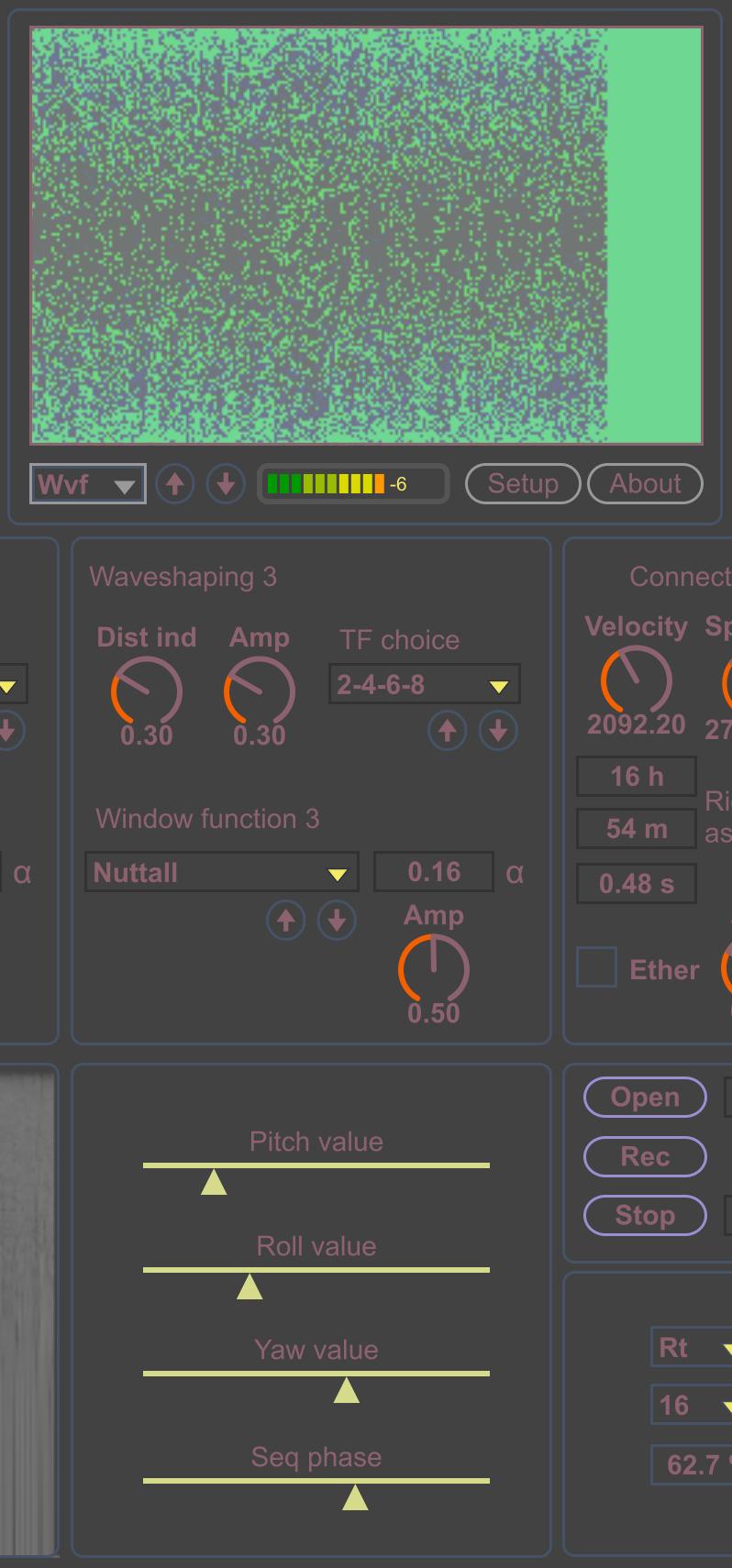 Compositor AV Ext full-height central part