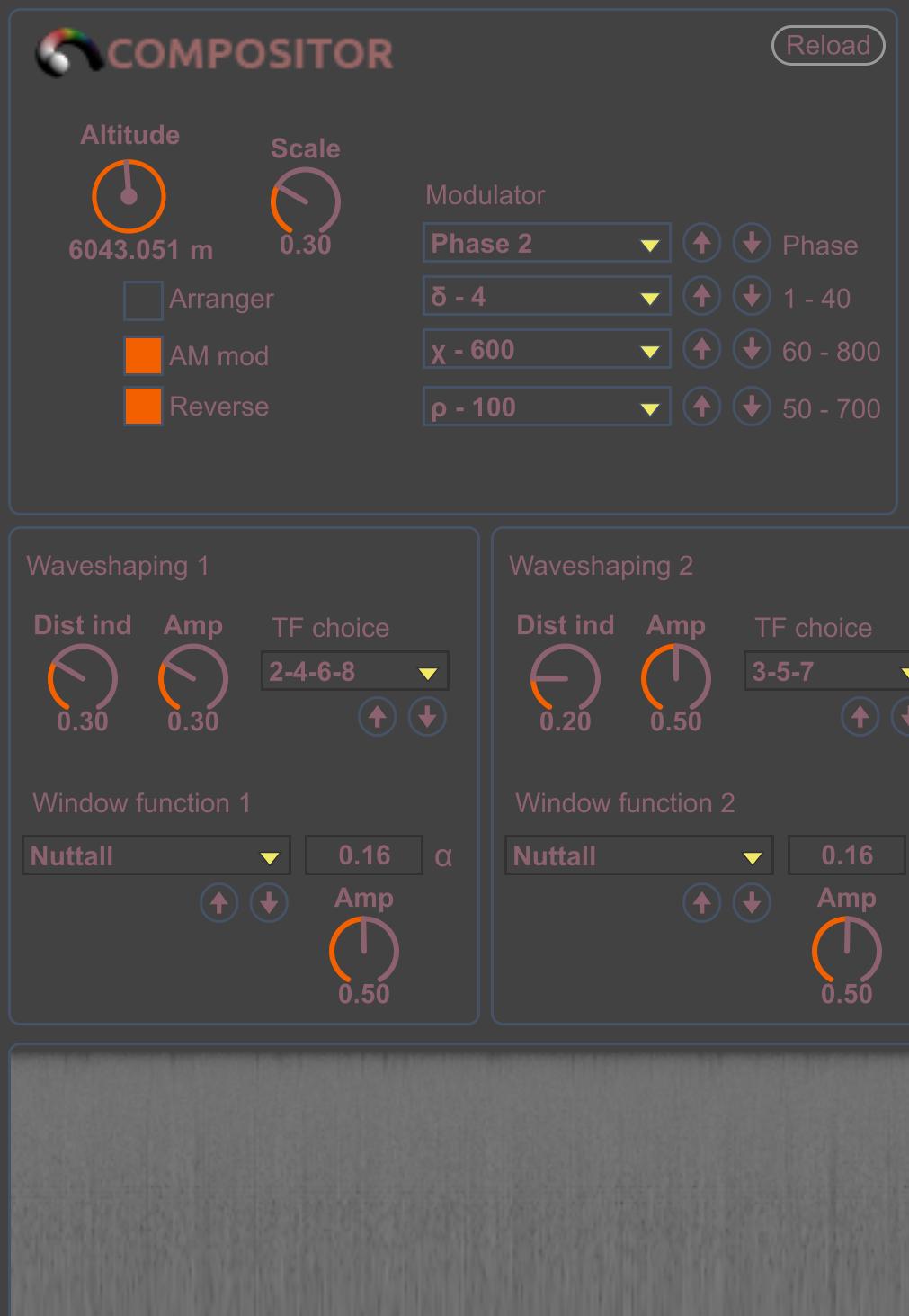 Compositor AV Ext full-height