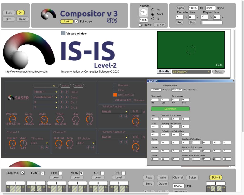 Compositor v3.0.3 RTOS