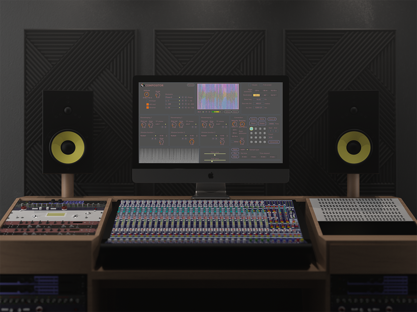 Compositor v9 in the studio